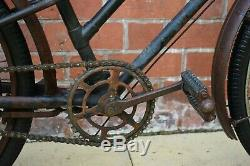 1930s CARRIERTUN TWIN CARRIER 22.5 VINTAGE TRADESMAN/ BUTCHERS/ CARRIER BICYCLE