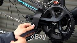 1 Bike Bicycle Car Roof Suck Carrier Rack Fork Mount Double Vacuum Cups