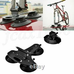 2019 MTB Bike Bicycle Carrier Car Roof Rack Quick Mounting Bracket 4 Suction Pad