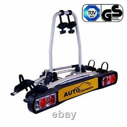2 Bicyle/Bike Rack/Carrier Unisveral Fit To 50mm Tow Ball/Bar Max Load 30kg