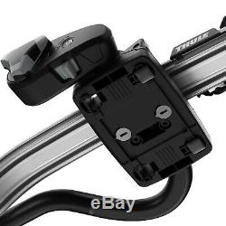 2x Thule Silver ProRide Roof Mount Cycle/Bike Carrier (Thule Expert 298) 598 591