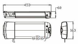 36V16Ah E-bike Li-ion Rear Battery Carrier Fit for 26-28 V Brake of Rear Wheel