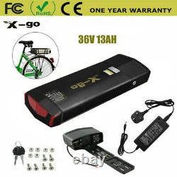 36V 13AH 350W 500W Battery Rear Carrier Seat Lithium Ebike Electric LED Bicycle