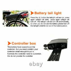 36V 13AH 500W 468WH Electric Bicycle Rear Carrier Seat Lithium Battery For Ebike