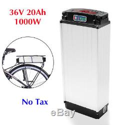 36V 20Ah 1000W E-bike Lithium Battery LED Rear Rack Carrier for Electric Bicycle