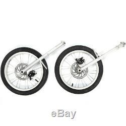 3 in1Portable Baby Stroller Carrier Bicycle Dreirad 16'' Falten Kinderwagen DE