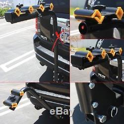 4 Bicycle Bike Rack Hitch Mount Carrier Car Swing Down 120lbs capacity 2 + 2