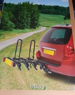 4 Bike Platform Car Rear Tow Bar Mounted Rack Cycle Carrier