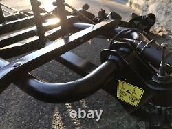 4 Bike Tow Bar Cycle Carrier / Bike Rack, Halfords. Hardly Used
