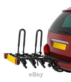 4 Bike Tow Bar Cycle Carrier PLATFORM TOWBAR Cycle CARRIER holds 4 Cycles