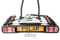 4-Bike Towbar Mounted Platform Cycle Carrier