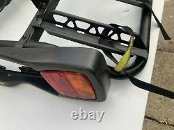 4 Bike carrier/rack towbar mounted carries 4 bikes, tilts