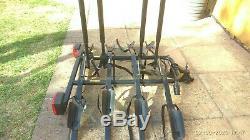 4 bike tow bar cycle carrier