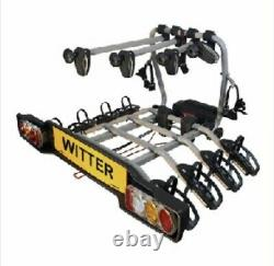 4 bike tow bar cycle carrier Witter ZX412