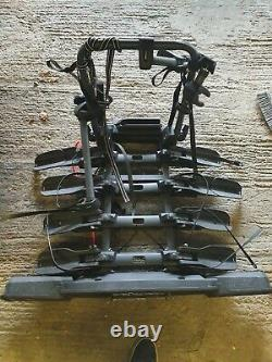 4 bike tow bar cycle carrier used
