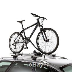 4x Thule Universal Lockable Roof Mounted ProRide 591 Cycle Carrier Bike Rack