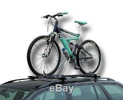 4x Universal Car Roof Mounted Upright Bicycle Rack Bike Cycle Carrier New