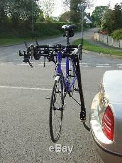 5 Bike Cycle Carrier Towball Mounted Twin Arm Bak-Rak