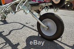 A352P Mottez Tow Bar Mount Single Wheel 5 Bike Trailer / Carrier / Rack