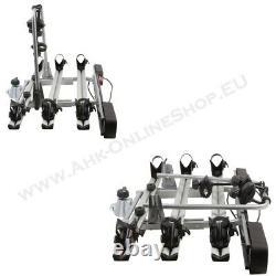 AHIRO3 Towbar Mounted 3 Bike Rack Cycle Carrier Tilting Theft Protection 13 pin