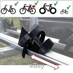 AHIRO3 Towbar Mounted 3 Bike Rack Cycle Carrier Tilting Theft Protection 7 pin