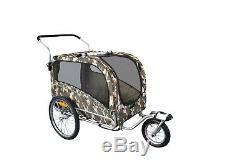 ARGO Bike bicycle trailer for transport dog pet stroller carrier buggy S-M-L