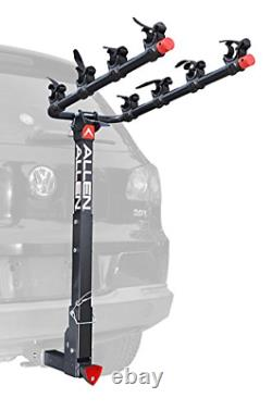 Allen Sports Deluxe Locking Quick Release 4-Bike Carrier for 2 Hitch