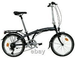 Aluminium Folding Bike 20 Wheels, Mudguard, Kickstand& Rear Carrier