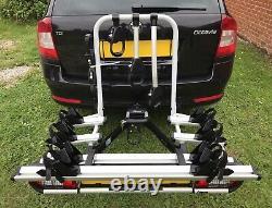 Atera Strada Sport M3 to 4 Bike Electric Bike Tow Bar Mount Cycle Carrier Rack