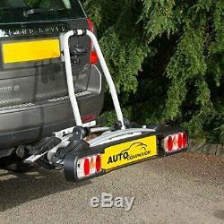 Auto Companion 2 Cycle Carrier 2 Bike Rear Platform Towball Mount