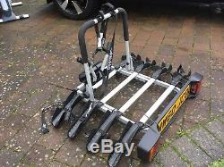 Tow Ball Cycle Carrier Mont Blanc 481000 Quickball Black//Silver