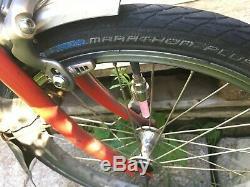 BROMPTON M6L 6 Speed M-TYPE, BROOKS LONG SEATPOST, RACK, EASYWHEELS, CARRIER BLOCK