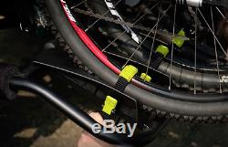 BUZZRUNNER H3 BUZZ RACK Entourage 3-Bike Platform Hitch Rack