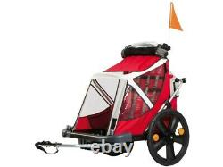 Bellelli B Taxi Childrens Kids Twins Pets Dog Bike Rear Trailer Carrier 2 seats