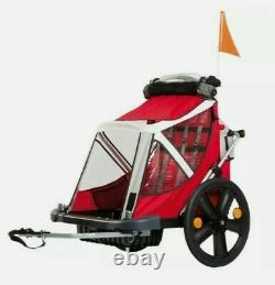Bellelli B Travel B Taxi Children Kids Twins Bike Cycle Trailer Carrier Double