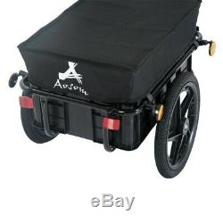 Bike Cargo Trailer Utility Steel Luggage Carrier Bicycle Storage Box Transport