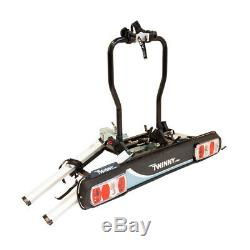 Bike Carrier For 2 Cycle Bike Rack Or 2 E-Bike on The Towbar Rear Rack Carrier