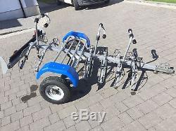 Bike Carrier Trailer For 6 Bikes