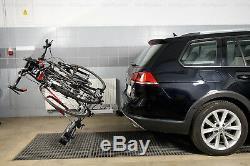 Bike Rack Cycle Carrier Towbar Mounted Tilting option for 4 bikes AMOS Tytan 4