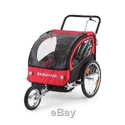 Bike Trailer Cargo Transport foldable Bycicle handcart wagon luggage carrier
