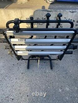 Black Thule Backpac 973 Bike Rack. VW T4/T5/T6. Bike Rack Cycle Carrier