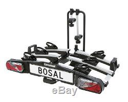 Bosal Compact Traveller 3 Foldable Cycle Bike Carrier Towball Mounted