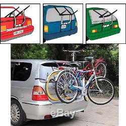 Brand New 3 Bicycle Carrier Car Rack Bike Cycle Towbar Universal Fits Most Cars