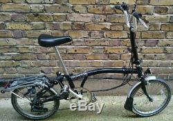 Brompton 5 Gear Folding Bike Dynamo Carrier