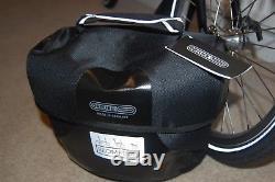 Brompton S6L Folding Bike with Ortlieb / Brompton O-Bag & Carrier Block MINT