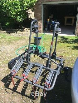 Buzz Quattro 4 bike tow bar mounted carrier