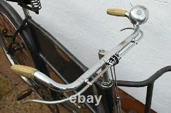 C. 1940s RALEIGH LOW GRAVITY VINTAGE BUTCHERS/ CARRIER BICYCLE