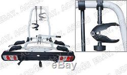 Car 4x4 Rear Platform Towball Tow Bar Mount 30kg Titan 2 Bike Cycle Rack Carrier