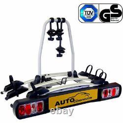 Car 4x4 Rear Towbar Tow Ball Mount 3 Cycle Bike Platform Rack Carrier AUTOC-19