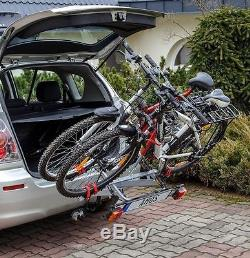 Car & 4x4 Tow Ball 2 Bike Bicycle Travel Rack Cycle Carrier